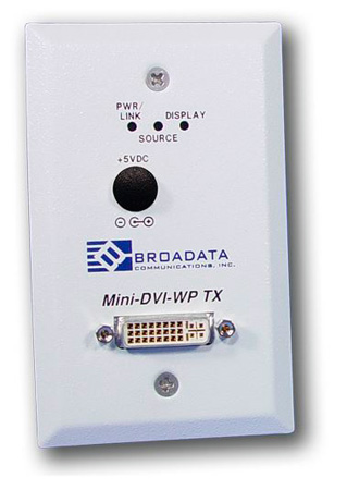 Broadata MINI-DVI-WP-T-M-SC Mini DVI Video Transmitter