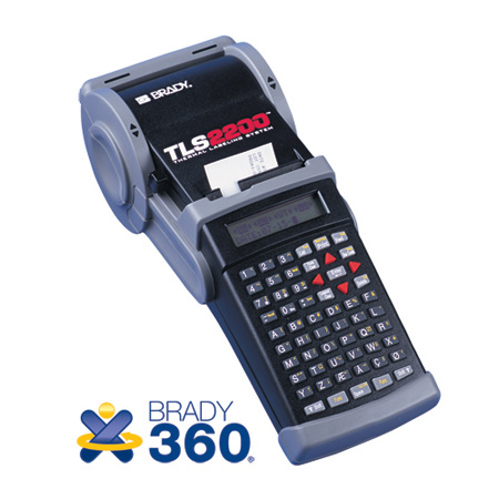 Brady TLS 2200 Thermal Labeling System w/Replacement Warranty