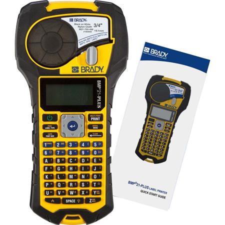 Brady BMP21-PLUS Professional A/V Equipment & Cable Label Printer