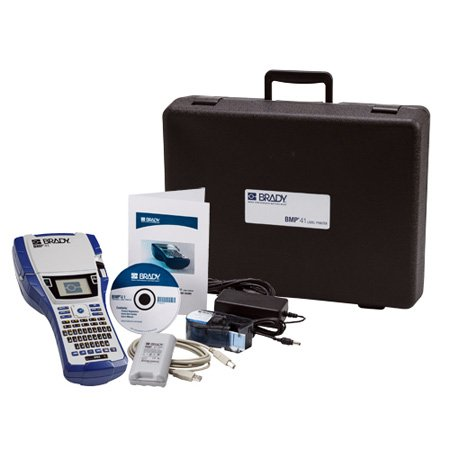 Brady BMP41-KIT-HC Label Printer Standard Package with Hard Case