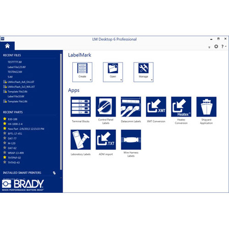 Brady LM6PROE LabelMark 6 Professional Software Download  - E-Media (single-user license)