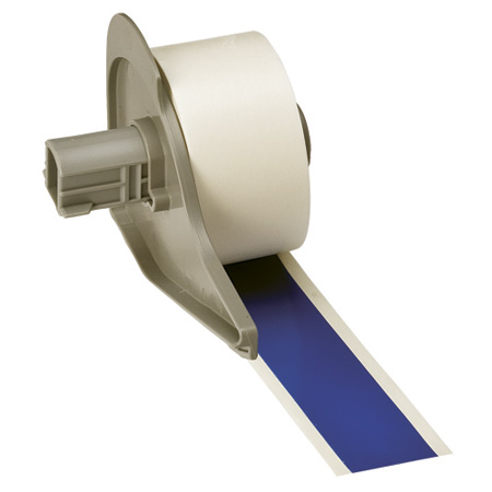 Brady M71C-1000-595-BL 1inX50ft Roll Blue Indooor/Outdoor Vinyl Film Label