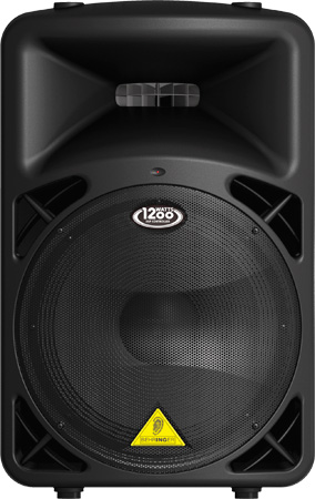 Behringer B815NEO DSP-Controlled 1200 Watt 15 Inch PA Speaker and Mixer