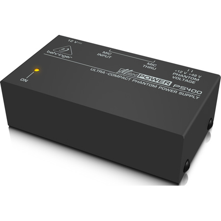 Behringer PS400 Ultra Compact Phantom Power Supply