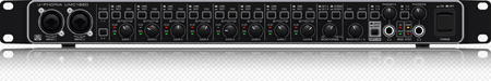 Behringer UMC1820 Audiophile 10x20 24-Bit/192 kHz USB Audio/MIDI Interface with MIDAS Mic Preamps