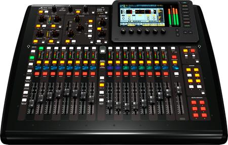 behringer x32 compact 40 input digital mixer