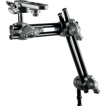 Manfrotto 396B-2 2-Section Double Articulated Arm With Camera Bracket