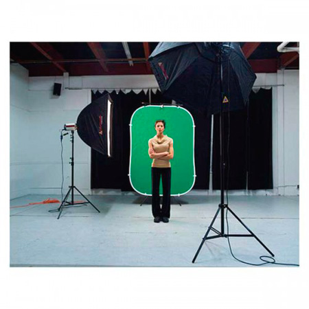 photoflex bg flexdrop wrinkle free 5x7 chroma key green background