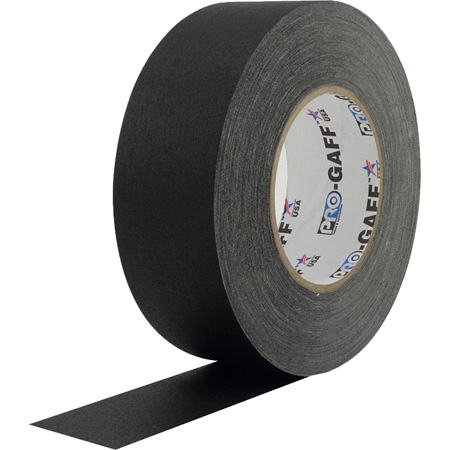 Pro-Gaff Gaffers Tape BGT-60 2 Inch x 55 Yards in Black