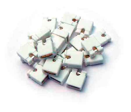 Bittree 382811-0 Audio Programming Shunts (White Grounding)