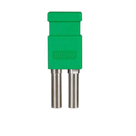 Bittree LP7505 Looping Plug (Standard Size WECO Video) Green
