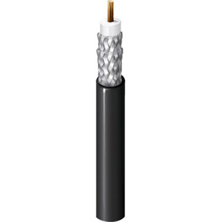 Belden 1694F CM Rated RG6/U Digital Coaxial Cable - Black - 1000 Foot