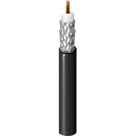 Belden 1694F CM Rated RG6/U Digital Coaxial Cable 1000Ft Black