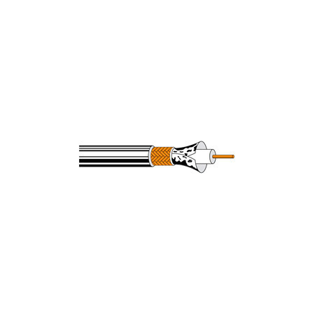 Belden 1695A RG6 Plenum SDI/HDTV Coaxial Cable -  500 Foot