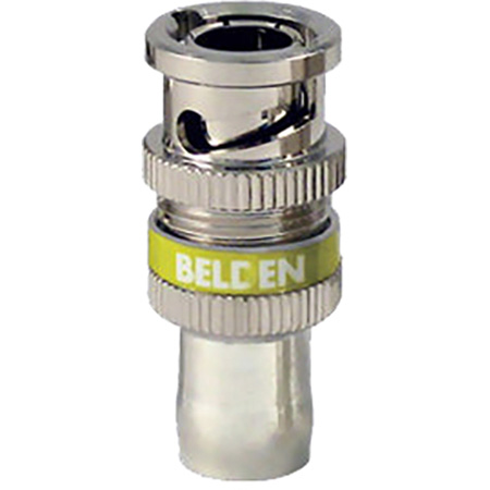 Belden 1855ABHDL - BNC - 23 AWG RGB/Mini Coax (Belden 1855A) - Purple Band