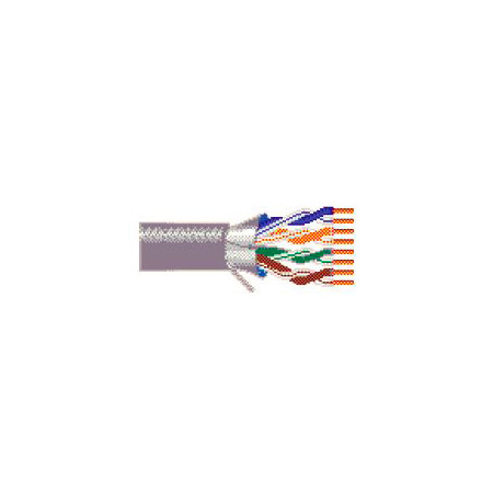Belden 2413F 4/23 Enhanced Category 6 Nonbonded-Pair ScTP Cable -1000 Ft