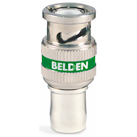 Belden 4694RBUHD1 12GHz UHD 1-Piece BNC Compression Connector for 4694R Coax