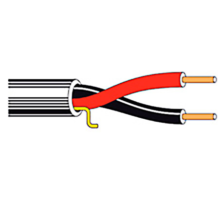 Belden 5200UE Non-Paired Unshielded Security / Alarm Cable 1000 Foot- Unreeled