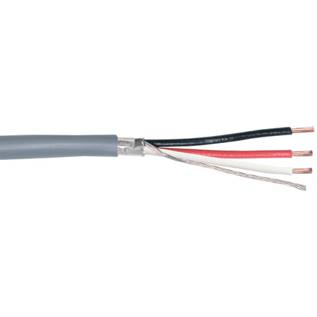 Belden 5201FE 16 AWG 3 Conductor Commercial Audio Cable (1000 Ft./Gray/Box)