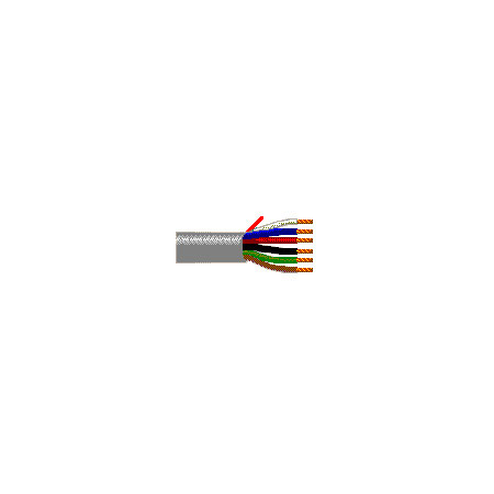 Belden 22ga 12 Conductor Security/Alarm Cable - Gray - Unshielded