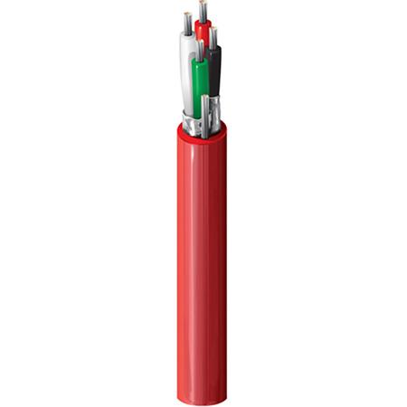 Belden 88723 Red Dual Pair Audio Non-Conduit Plenum Cable - 1000 Foot