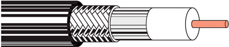 Belden 9116 RG6/18 CATV Coaxial Cable - 1000 Foot
