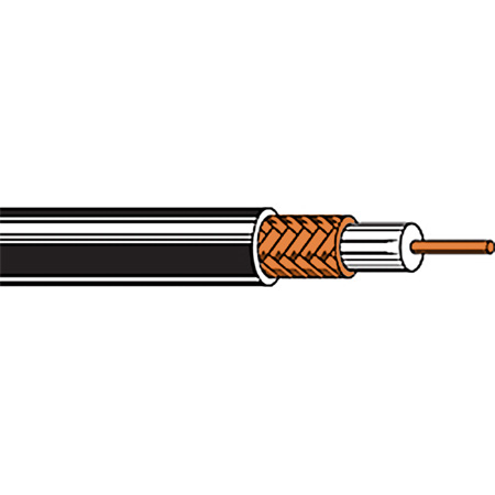 Belden 9201 RG58 Coaxial Cable 1000FT
