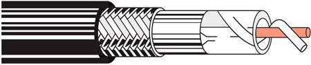 Belden 9913 Low Loss RG-8 Cable - Black - 250 Foot