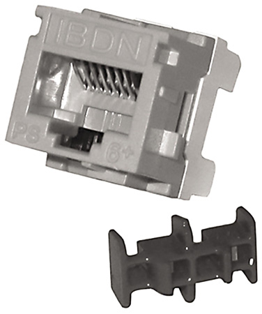 Belden AX101067 CAT6 Modular Jack RJ45 MDVO Style - Orange (TIA 606)