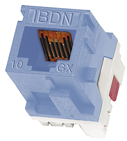 Belden AX102284 10GX Cat6A Keystone Modular Jack Orange
