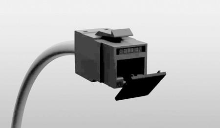 Belden RVUDCBK-B24 Dust Caps for all REVConnct Jacks - Pack of 24 - Black