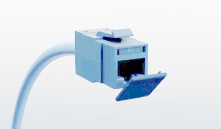 Belden RVUDCTB-B24 Dust Caps for all REVConnct Jacks - Pack of 24 - TIA Blue