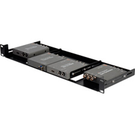 Connectronics 1RU Universal Blackmagic Design Mini Converter Rackmount-B Stock (Cosmetic Only)