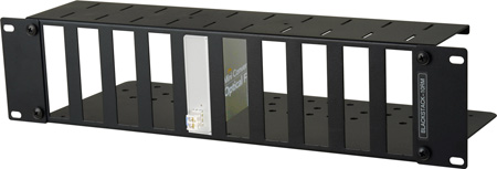 Connectronics 3RU High Density Universal Blackmagic Design Mini Converter Rackmount