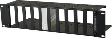 MCS BLACKSTACK-10RM 3RU High Density Universal Blackmagic Design Mini Converter Rackmount