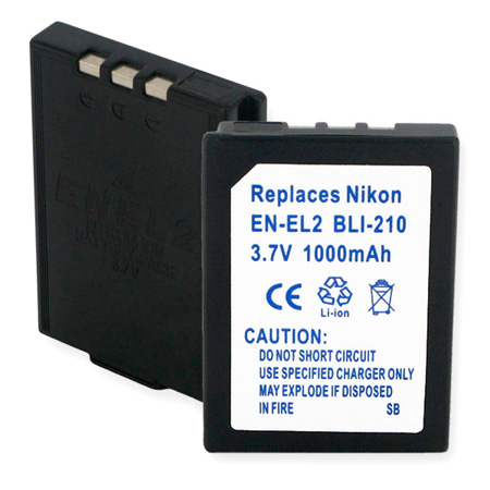 Lithium Ion Battery for Nikon EN-EL2