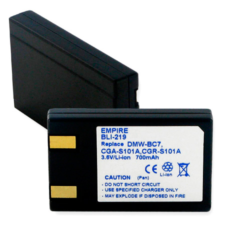Lithium Ion Battery for Panasonic CGA-S101A