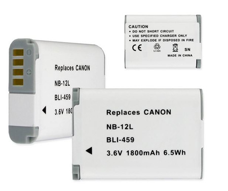 BLI-459 Replacement Li-Ion Battery for CANON NB-12L