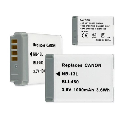 BLI-460 Replacement Li-Ion Battery for CANON NB-13L