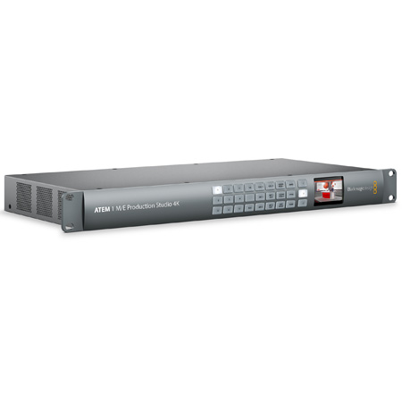 Blackmagic ATEM 1 M/E Production Studio 4K Switcher with DVE & Stinger Transitions