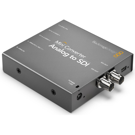 Blackmagic CONVMAAS2 Analog to 3G HD-SDI Mini Converter