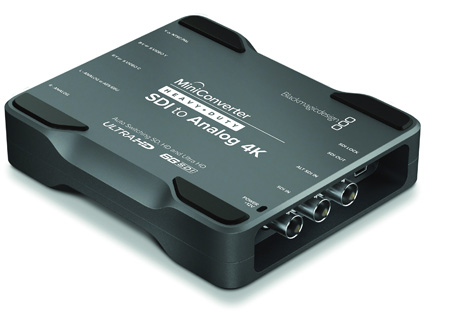 Blackmagic Mini Converter Heavy Duty SDI to Analog 4K