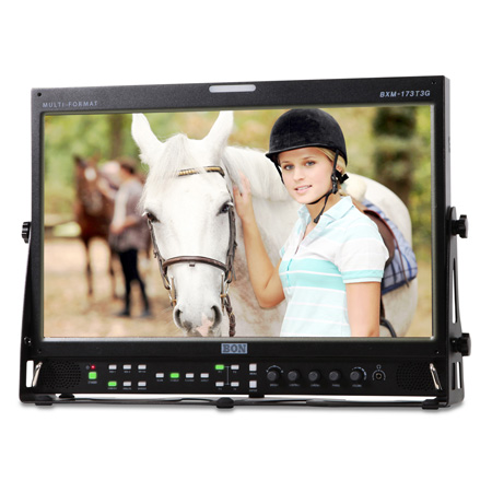 BON BXM-173T3G 17.3 Inch 3G/HD/SD-SDI & HDMI LCD Studio Broadcast & Production Monitor with PIP/ Waveform & Vectorscope