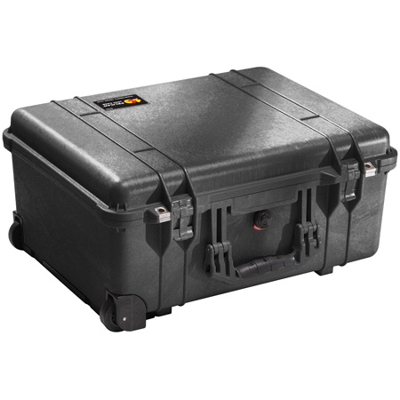 Pelican 1560 Case with Pick-n-Pluck Foam Liner in Yellow
