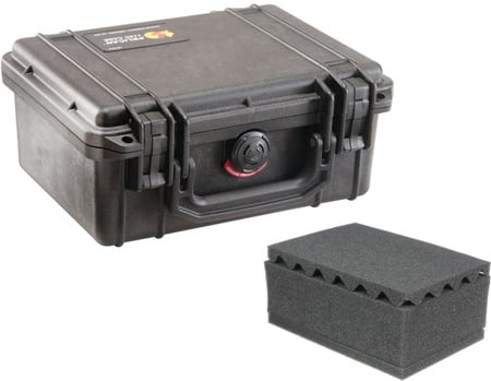 Pelican 1150 Case With Foam - Black