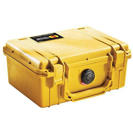 Pelican 1150 Case No Foam YELLOW
