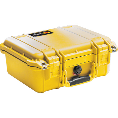 Pelican Protective Case-No Foam 13inL x 12in W x 6in D- Black