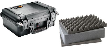 Pelican 1450 Case Black - With Foam