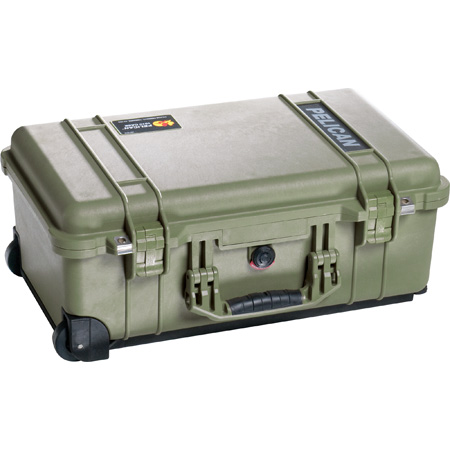 Pelican 1510 Carry On Case (No Foam/OD Green)