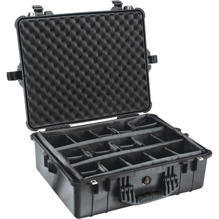 Pelican Case w/Dividers   Yellow